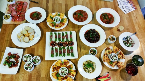 learn tapas cooking London