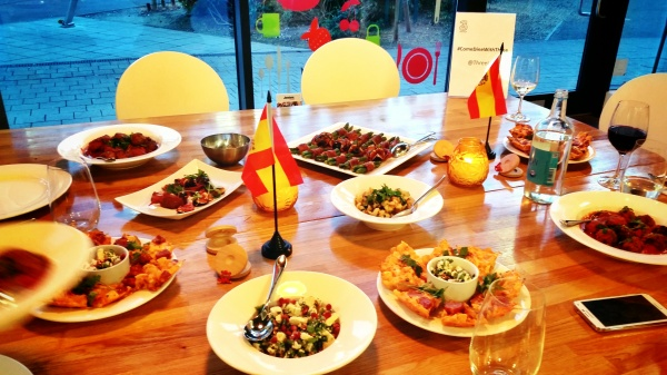 Spanish tapas cookery class