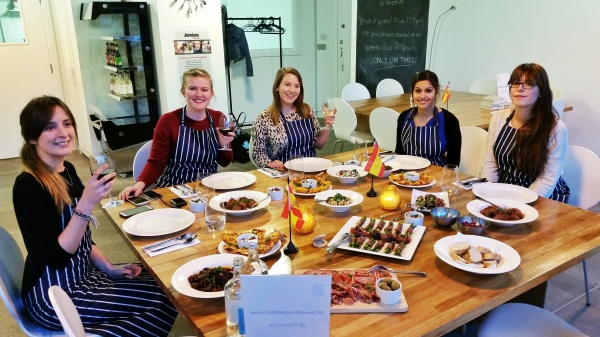 cookery class blog event Three Mobile