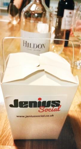 Jenius social cooking class