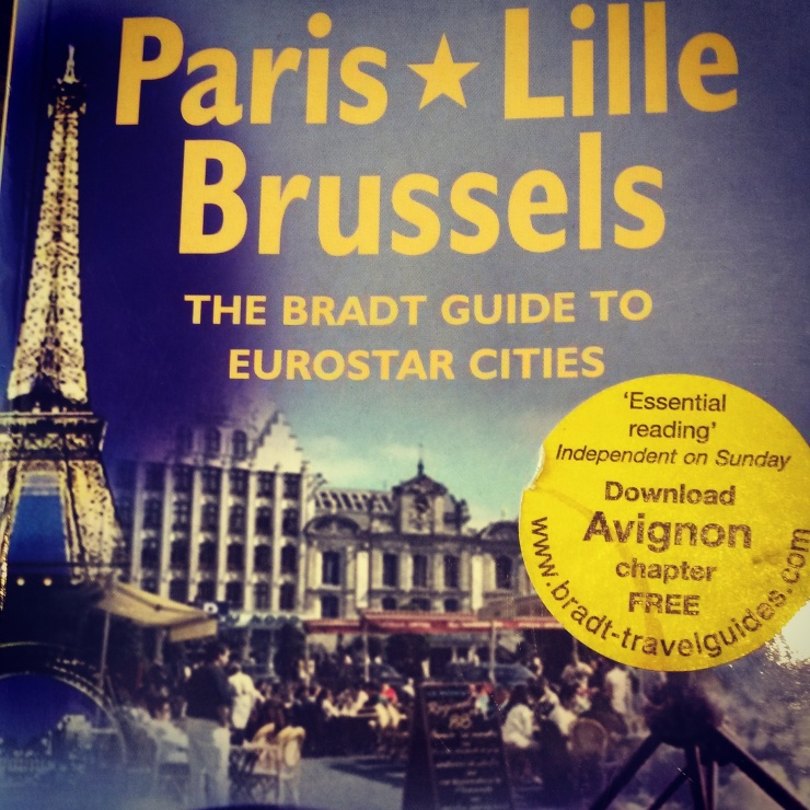 Paris Lille Brussels guidebook