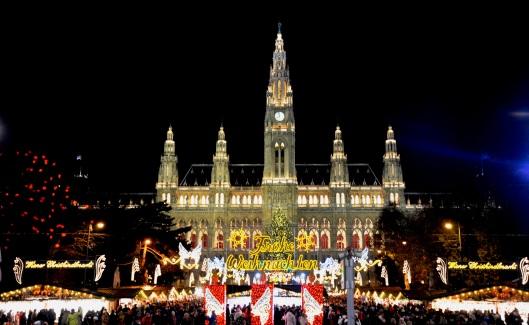 Vienna main Christmas market