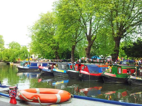 Warwick Avenue Little Venice waterside