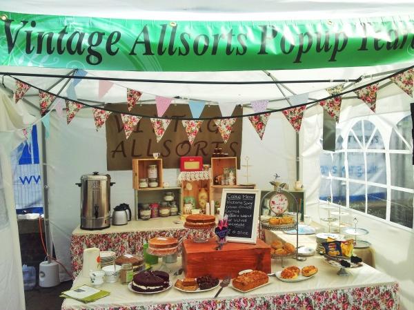 Vintage Allsorts Pop up tea room