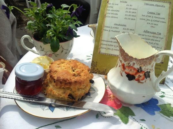 sultana scone tea room Little Venice