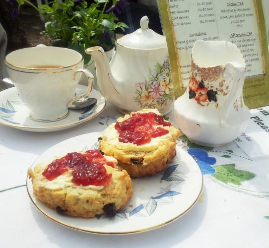cream tea Little Venice