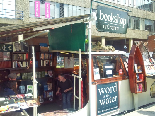 bookshop on barge Little Venice Word on the water
