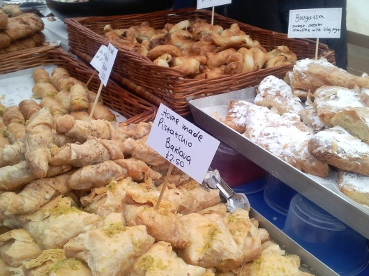 Baklava food market Little Venice cavalcade