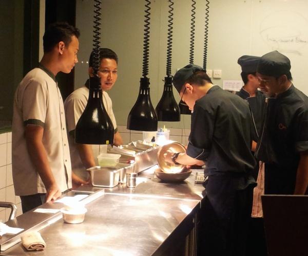 Cuca restaurant chefs Bali
