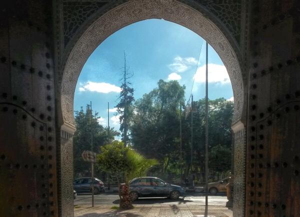 arch architecture Marrakech