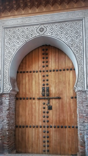 arch shaped door Marrakech