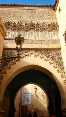 lamp post arch Marrakech