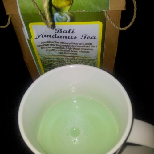 pandan tea flavour