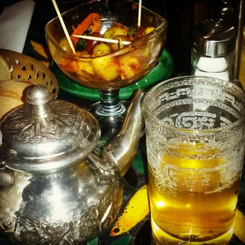 saffron tea Morocco