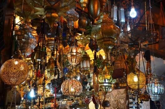 Marrakech Souks Lanterns