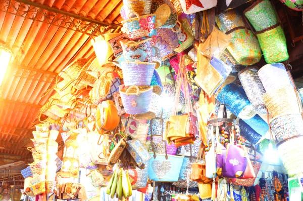 buying baskets Marrakech markets