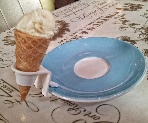 ice cream cone Parlour Fortnum and Mason