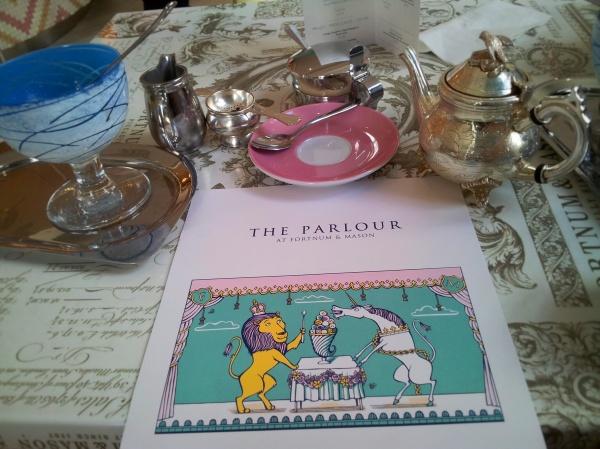Parlour Restaurant Menu Fortnum Mason