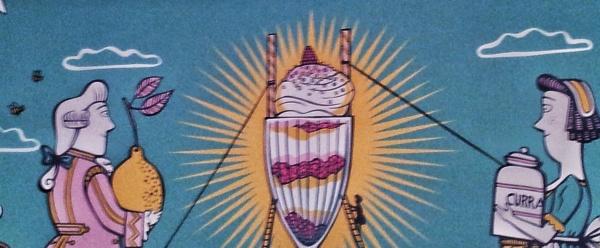 painting ice cream parlour fortnum mason