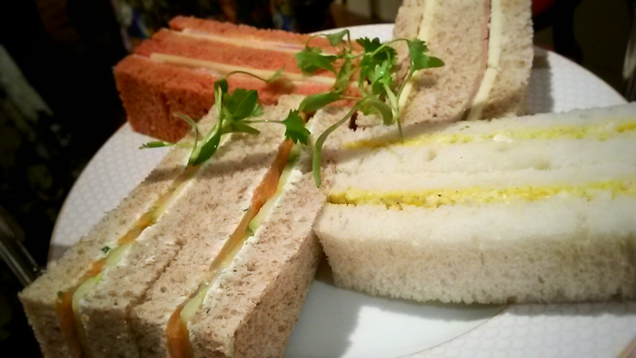 Sofitel St James afternoon tea sandwiches
