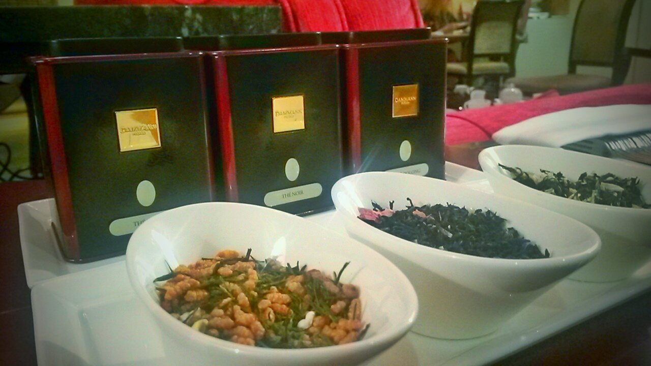 Dammann Freres fine tea selection