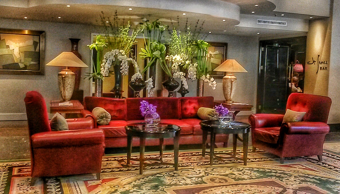 lobby Sofitel St James hotel London