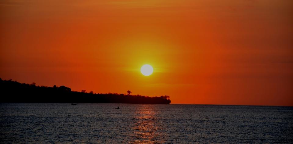 sunset photos Jimbaran Bali