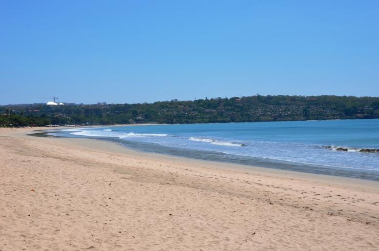 sandy beach Jimbaran Bali