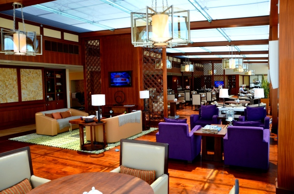 club lounge Abu Dhabi Ritz Carlton hotel