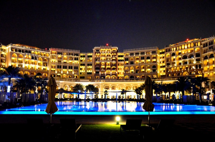 Ritz Carlton Abu Dhabi night views
