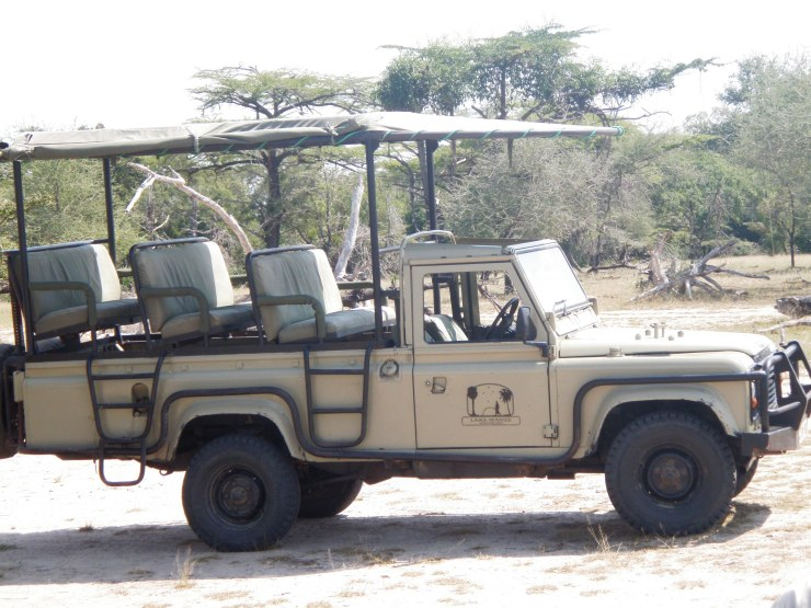 selous safari truck