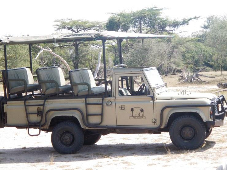 selous safari truck