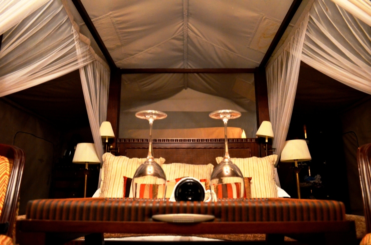 Selous Serena Luxury Camp Safari Lodge