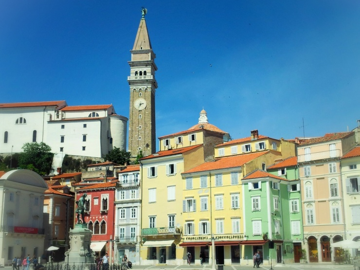 Piran main square