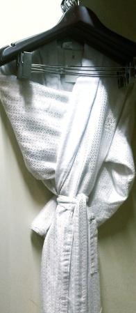 bathrobe Ritz Carlton Abu Dhabi