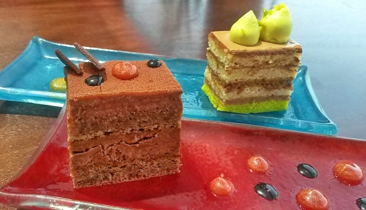 afternoon tea cakes Ritz Carlton lounge