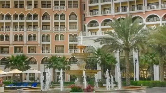 poolside Ritz Carlton Grand Canal
