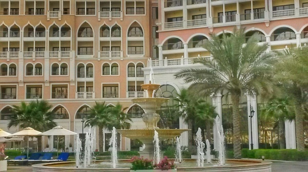 poolside Ritz Carlton Grand Canal