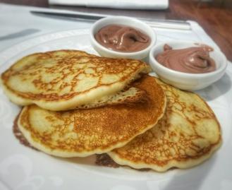breakfast pancake club lounge Ritz Carlton Grand Canal