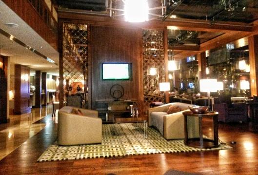 club lounge level Ritz Carlton