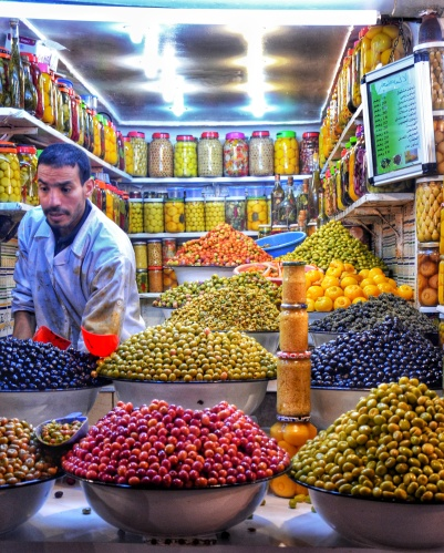 Marrakech Food Tours stalls