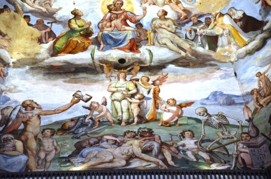 paintings Duomo Cathedral Firenze