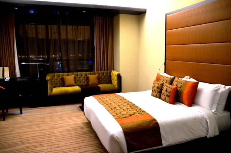 Southern Sun hotel room Abu Dhabi