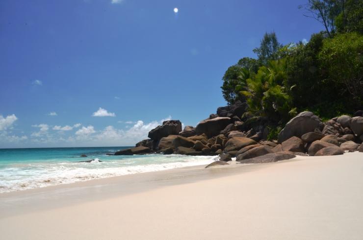 Anse Georgette private beach Seychelles