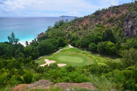 Golf course Constance Lemuria Seychelles