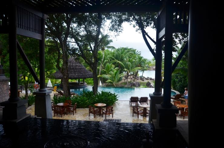 5 star luxury resort Praslin