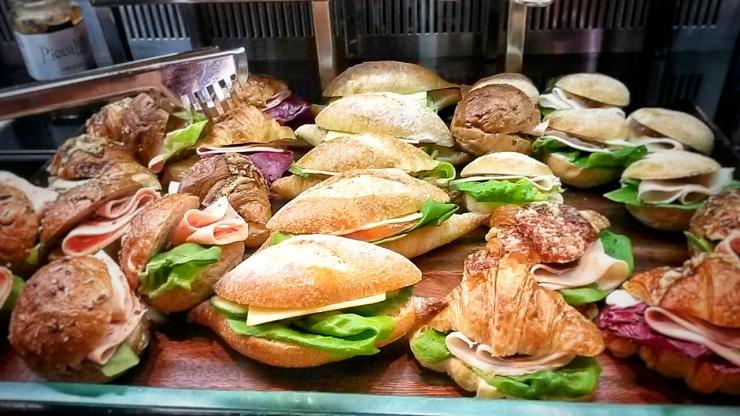 Sun Hotel sandwiches breakfast buffet