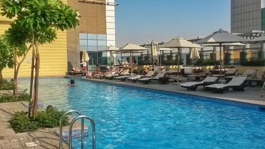 rooftop pool Southern Sun Abu Dhabi hotel