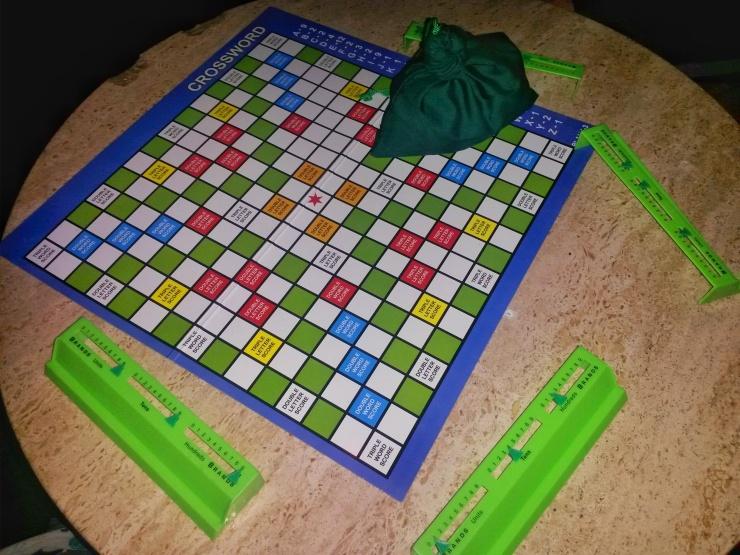 word board game like Scrabble