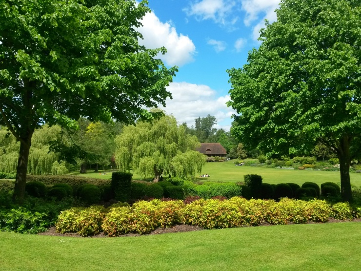 Leeds Castle gardens